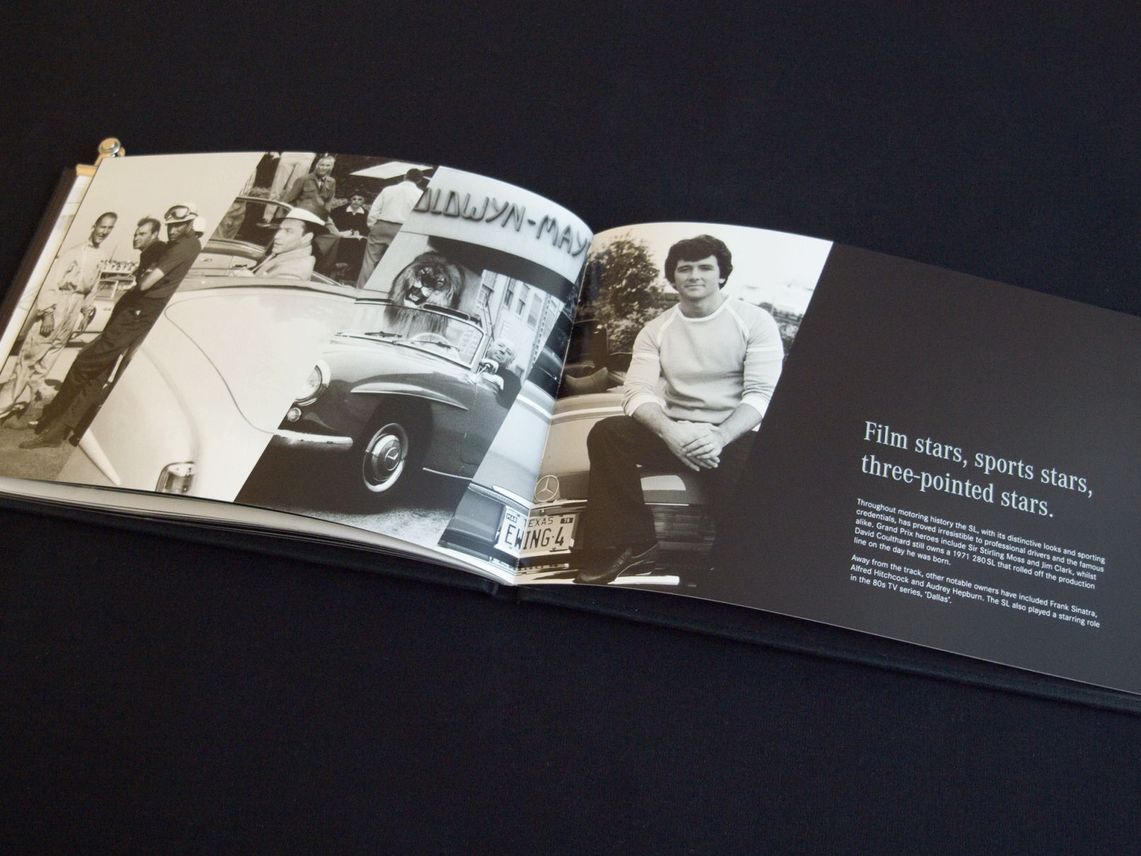 Mercedes benz a book to celebrate the sl 60th anniversary for Mercedes benz books